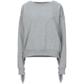 《セール開催中》SOHO DE LUXE レディース スウェットシャツ グレー 38 コットン 100%