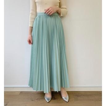 【ラウンジドレス/Loungedress】 ギャザープリーツスカート