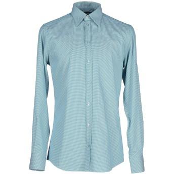 《セール開催中》DOLCE & GABBANA メンズ シャツ ターコイズブルー 37 コットン 100%