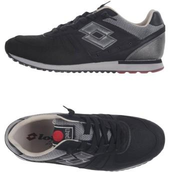 《セール開催中》LOTTO LEGGENDA メンズ スニーカー&テニスシューズ(ローカット) ブラック 40 革 / 紡績繊維