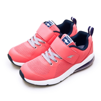 KangaROOS 氣墊慢跑鞋 ASTRO藍標袋鼠鞋 粉紅藍 91213