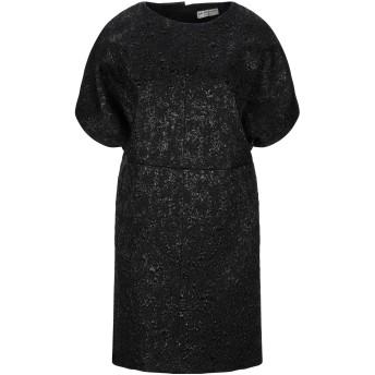 《セール開催中》BALENCIAGA EDITION レディース ミニワンピース&ドレス ブラック 38 ポリエステル 45% / レーヨン 36% / アセテート 19%