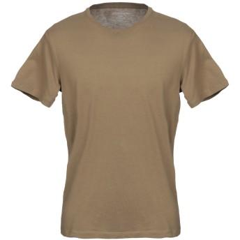 《セール開催中》MAJESTIC FILATURES メンズ T シャツ カーキ M コットン 100%