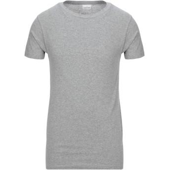 《セール開催中》CALVIN KLEIN メンズ T シャツ グレー S コットン 100%