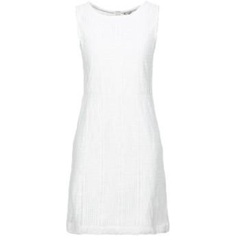 《セール開催中》TOMMY HILFIGER レディース ミニワンピース&ドレス ベージュ XS ポリエステル 100%
