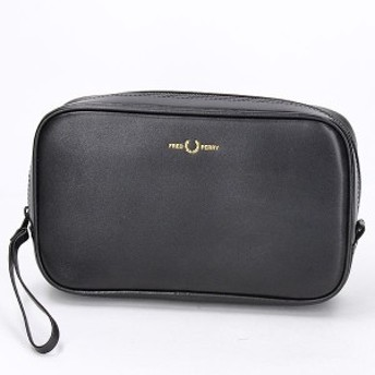 フレッドペリー(雑貨)(FRED PERRY)/【S20】GRAPHIC LEATHER TRAVEL CASE