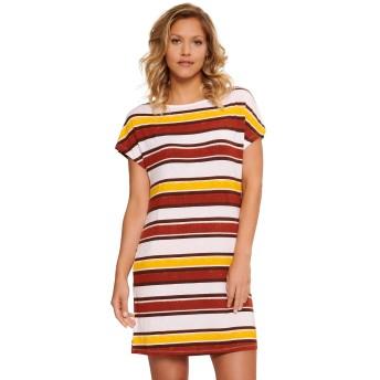 LingaDore 5409-167 Pep Red Stripe Print Nightdress Large