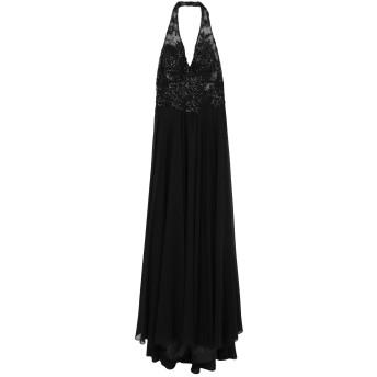 《セール開催中》ALLURE レディース ロングワンピース&ドレス ブラック 6 ポリエステル 100%