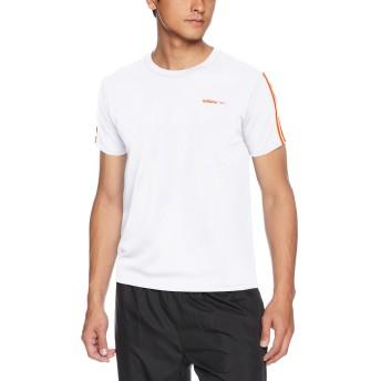 [アディダス ネオ] Tシャツ クルーネック ASC113A メンズ ホワイト 日本 M (日本サイズM相当)