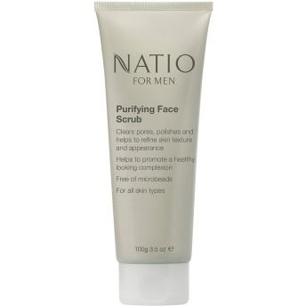 Natio For Men Purifying Face Scrub, 100g