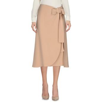 《セール開催中》CELINE レディース 7分丈スカート キャメル 42 シルク 100%