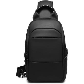 メンズ ショルダーバッグ 斜めがけ 防水 ワンショルダーバッグ 人気 アウトドア ボディバッグ 大容量 軽量 9.7インチiPad収納可 通勤