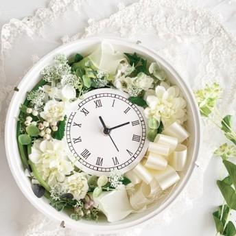 時を刻む花時計*オーダーカラー可能