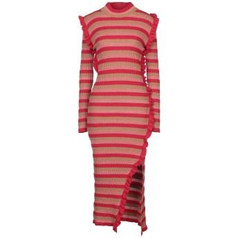 《セール開催中》ANIYE BY レディース 7分丈ワンピース・ドレス キャメル M レーヨン 40% / ウール 20% / ナイロン 20% / 金属繊維 15% / カシミヤ 5%