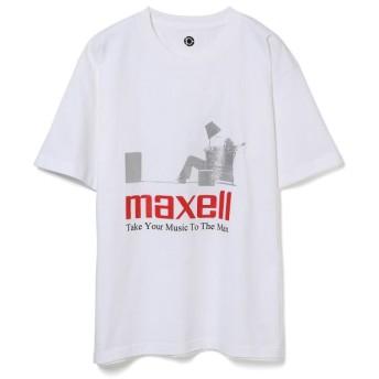 アダム エ ロペ オム/【Maxell × 10C】TEE/ホワイト系/L