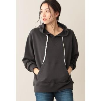 LE JOUR 【MEI】SWEAT GAZETTE HOODIE Tシャツ・カットソー,グレー系