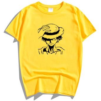 ONE PIECE ワンピース ルフィ ゾロ ナミ チョッパー ボア・ハンコック Ace 熱血 アニメ メンズ レディース 夏服 スポーツ 半袖 おしゃれ Tシャツ