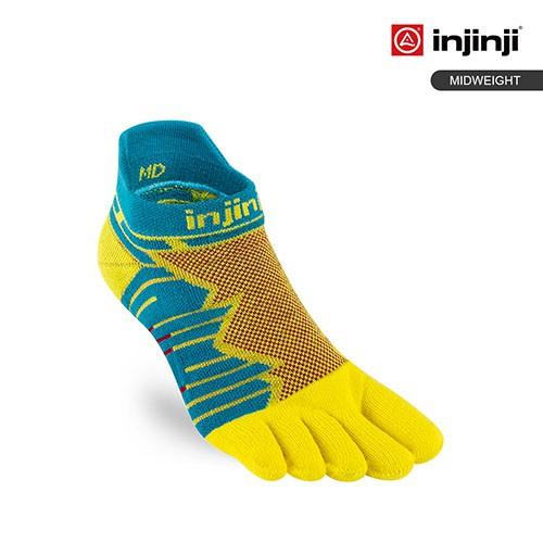【INJINJI】Ultra Run終極系列隱形襪 [太陽黃] 避震運動襪 | INJB0NAA6524