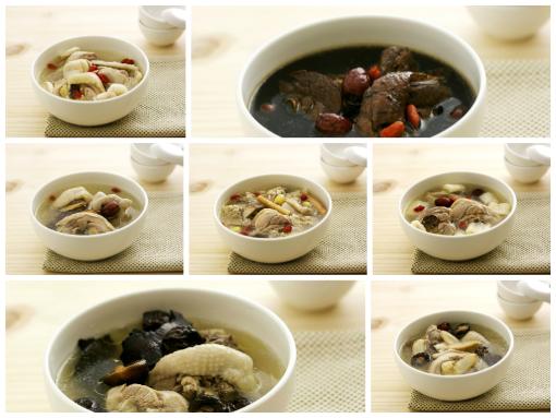 哺乳煲湯組(7入)+哺乳茶14包