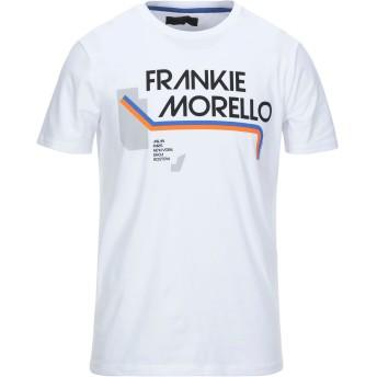 《セール開催中》FRANKIE MORELLO メンズ T シャツ ホワイト S コットン 95% / ポリウレタン 5%
