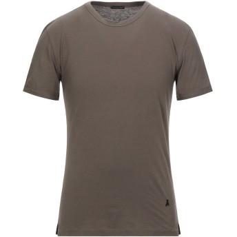 《セール開催中》PATRIZIA PEPE メンズ T シャツ ミリタリーグリーン M コットン 100%