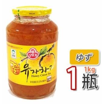 【三和】蜂蜜ゆず茶 ★ 1kg X 1個 ★ ビタミンCがレモンの3倍!美味しく風邪予防!オットギ 韓国お茶 健康茶 蜂蜜ゆず茶 韓国食材 韓国食