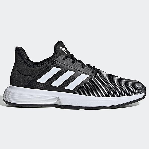 Adidas GAMECOURT 男鞋 網球 襪套 柔軟 透氣 黑【運動世界】EG2009