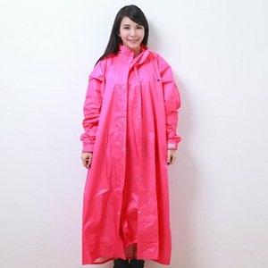 OutPerform桑德史東繽紛全方位連身式風雨衣(T4(機車雨衣 連身式雨衣)-蜜桃紅