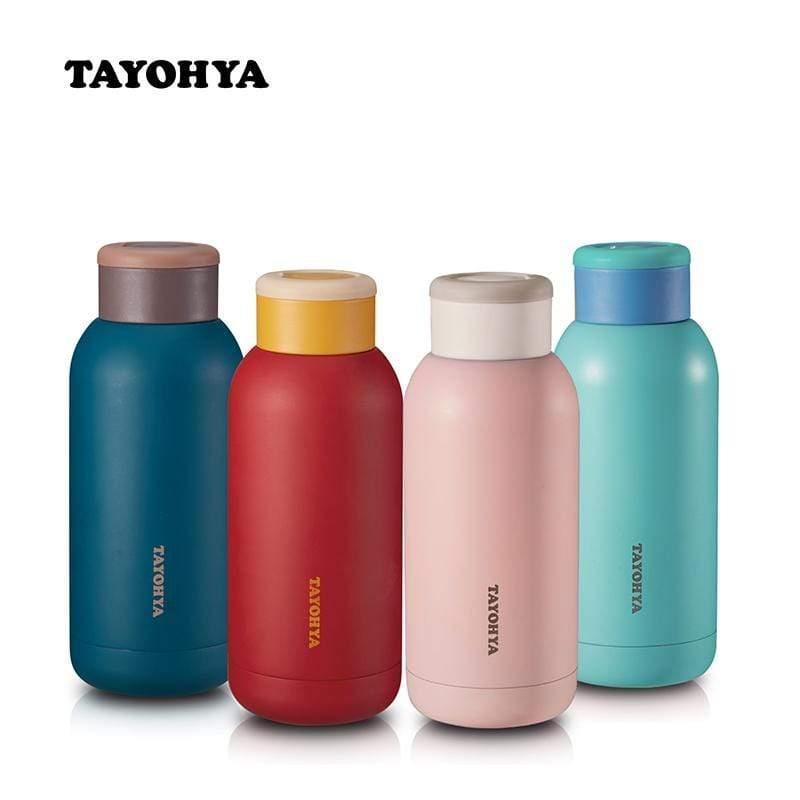 兩用冷暖魔溫瓶-共四色 藍精靈(水藍色)