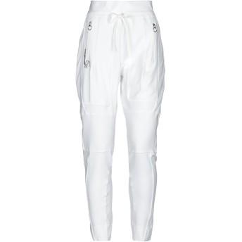 《セール開催中》HIGH by CLAIRE CAMPBELL レディース パンツ ホワイト M ナイロン 76% / ポリウレタン 24% / ポリエステル