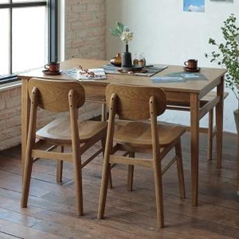 ダイニングテーブル 幅120cm Rasic テーブル 木製 天然木 ( 木製テーブル 食卓テーブル 机 つくえ 食卓机 リビングテーブル 4人掛け お