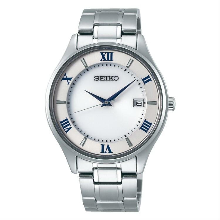 Seiko 精工錶 V157-0CZ0S(SBPX113J) SPIRIT系列經典簡約對錶/白面 40mm
