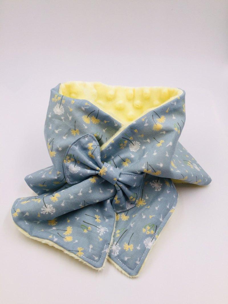 日系蒲公英保暖脖圍 設計款 彌月禮 暖呼呼
