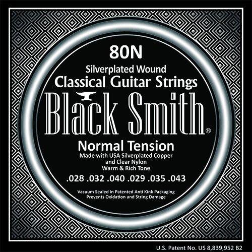 烏克時代~韓國 Black Smith 80N 古典吉他弦 中張力