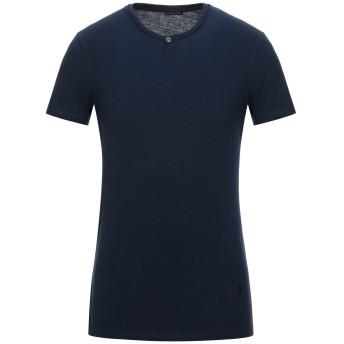 《セール開催中》PATRIZIA PEPE メンズ T シャツ ダークブルー S コットン 100%