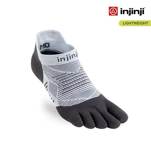 【INJINJI】RUN 輕量吸排五趾隱形襪 [灰] 五趾隱形襪 | INJB0NAA0393