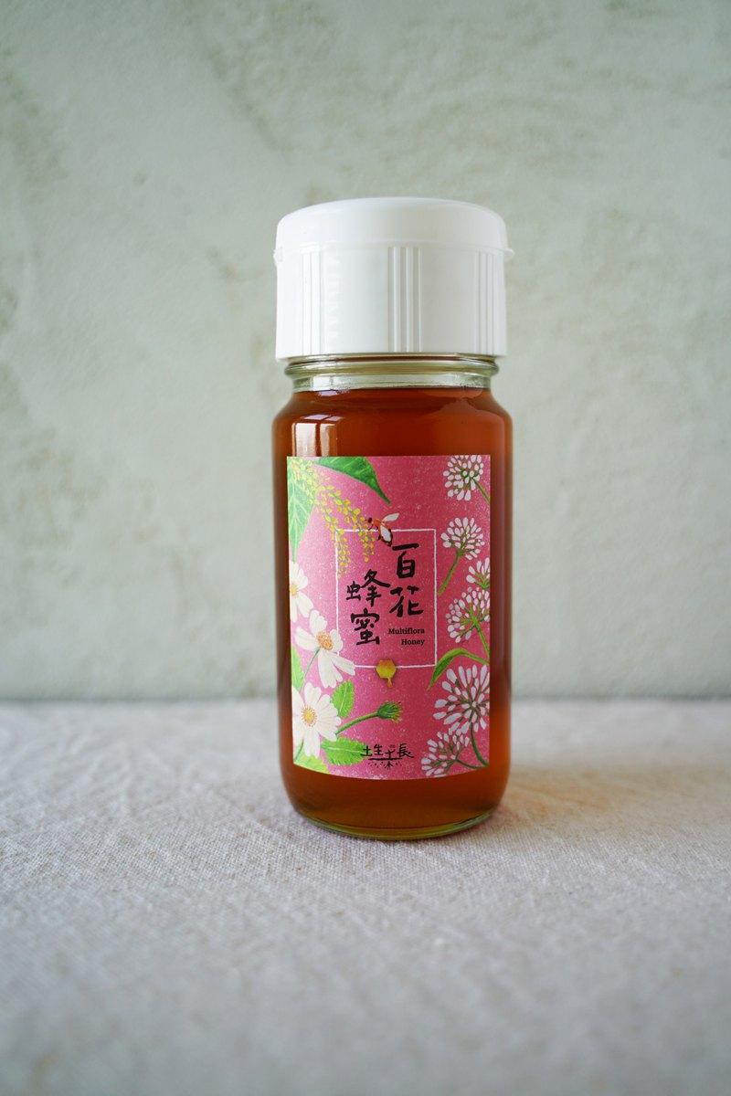 土生土長_百花蜂蜜