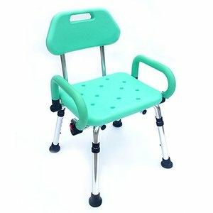 【樂吾老】Bathcare-雙掀扶手有背洗澡椅-舒適PU手把