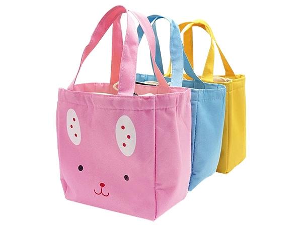可愛動物保溫束口袋(1入) 顏色可選【D280024】便當袋/收納包