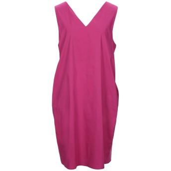 《セール開催中》LIVIANA CONTI レディース ミニワンピース&ドレス フューシャ 46 コットン 68% / ナイロン 28% / ポリウレタン 4%