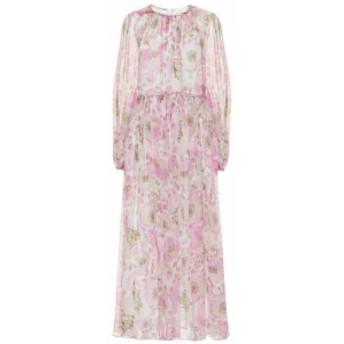 ジマーマン Zimmermann レディース ワンピース ミドル丈 ワンピース・ドレス Super Eight Braid silk midi dress Pink Poppy