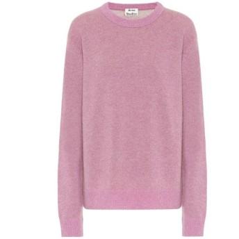 アクネ ストゥディオズ Acne Studios レディース ニット・セーター トップス Cashmere sweater Lilac/Camel