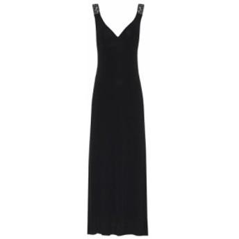 ライアンロッシュ Ryan Roche レディース ワンピース マキシ丈 ワンピース・ドレス Knitted maxi dress Black