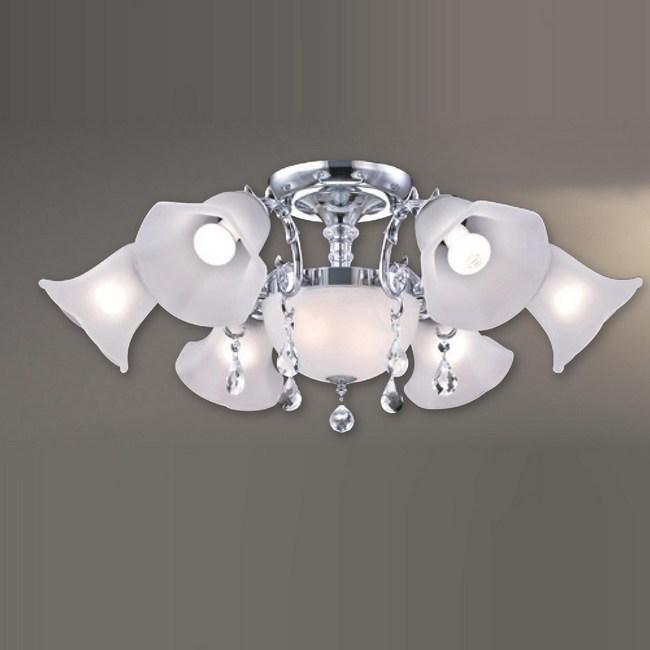 大巨光 台製現代風半吸頂燈 中 LW-09-2282