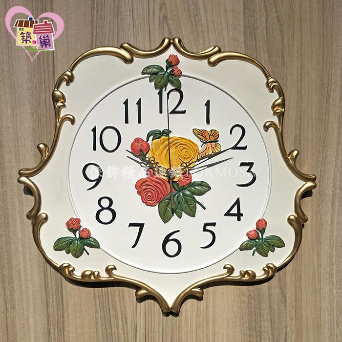 《正版授權》ANNIES玫瑰超靜音時鐘 【Peter Rabbit 彼得兔】