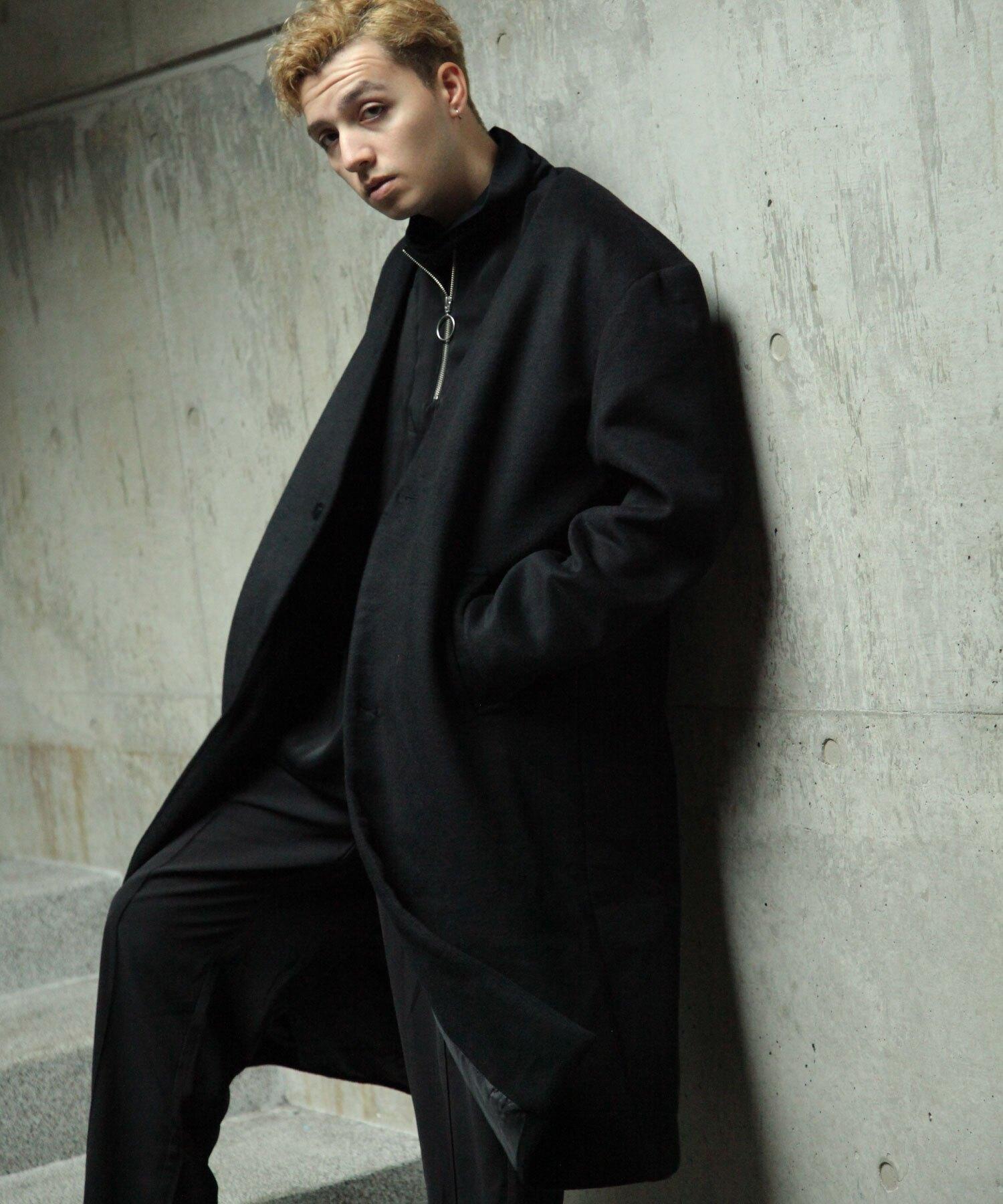 【Nilway】無領羊毛大衣