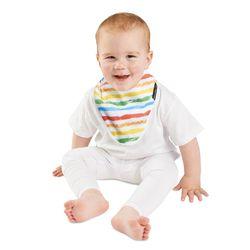 【Mum 2 Mum】雙面竹纖維棉機能口水巾圍兜-彩虹/星星