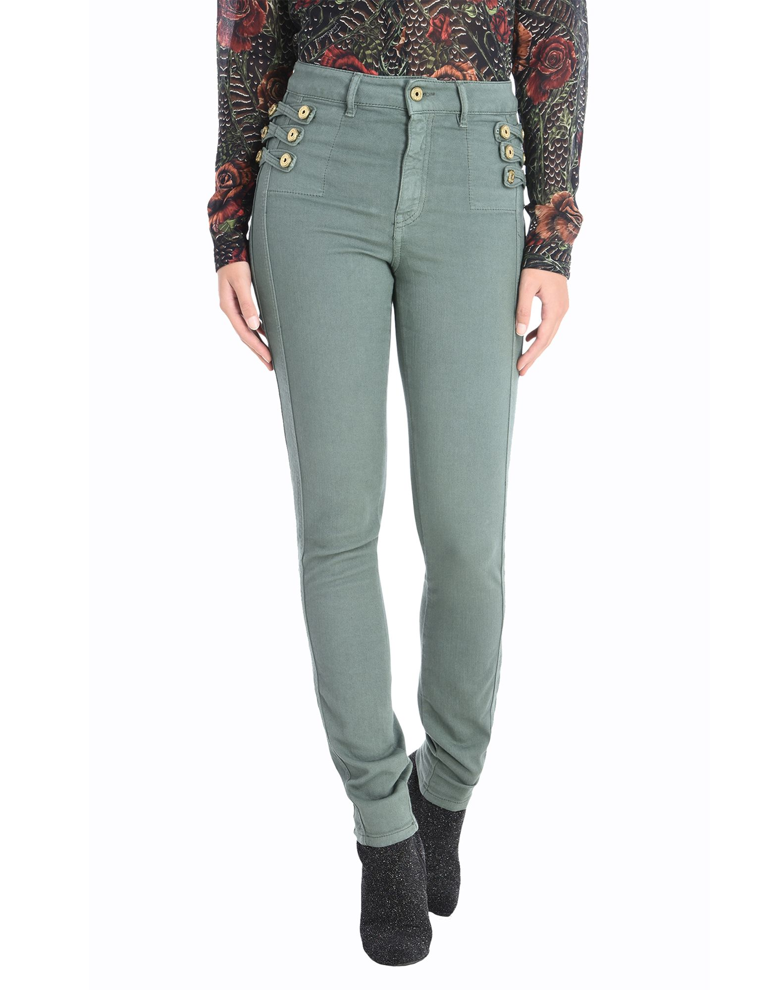 JUST CAVALLI Denim pants - Item 42680957