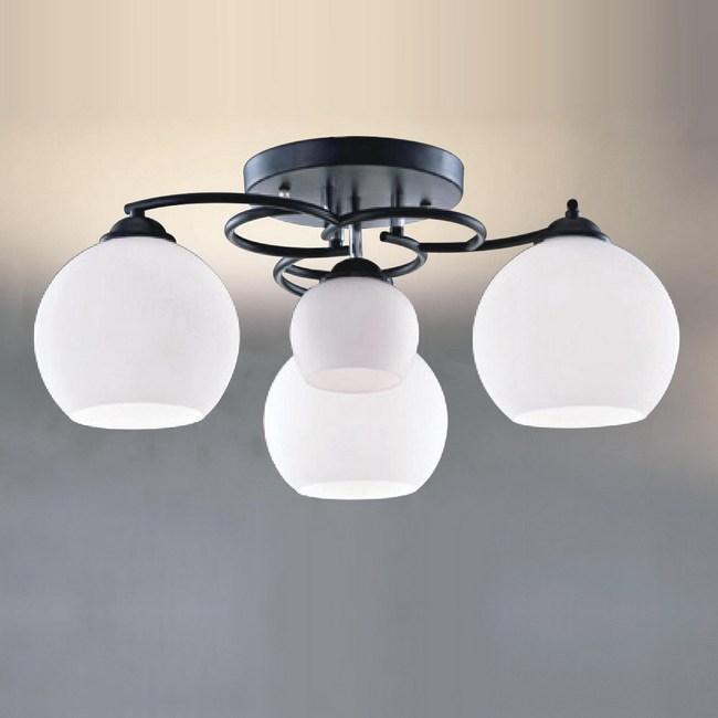 大巨光 台製現代風半吸頂燈 中 LW-09-2242