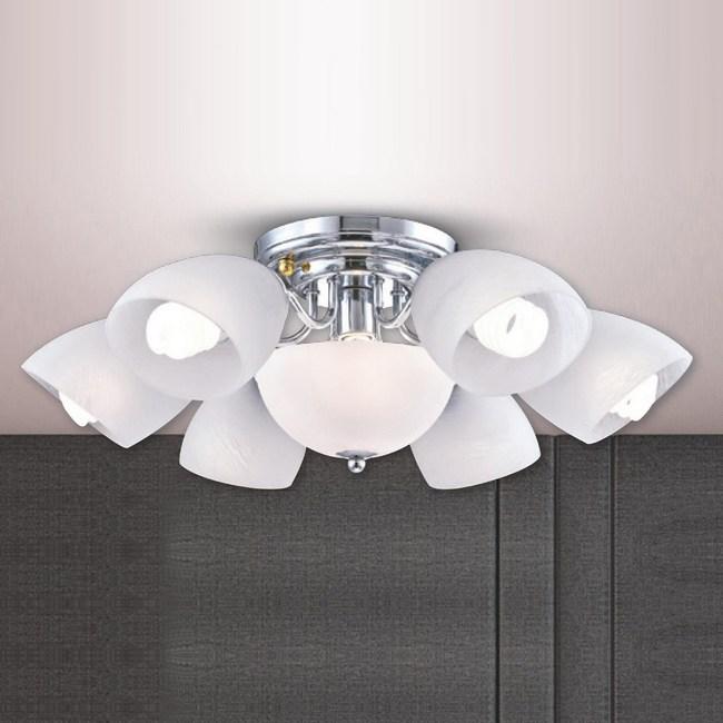 大巨光 台製現代風半吸頂燈 中 LW-09-2311